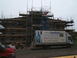 Roof insulation Lothian Estates Jedburgh