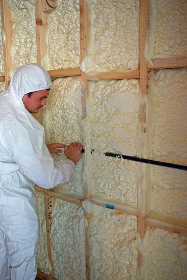 Case Studies Icynene Spray Foam Insulation